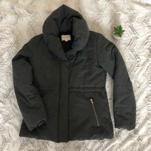 Loft dark gray coat